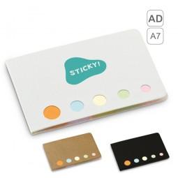 Caderno adesivos A7 personalizado Stooky 93421