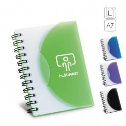 caderno capa dura  A7 personalizado