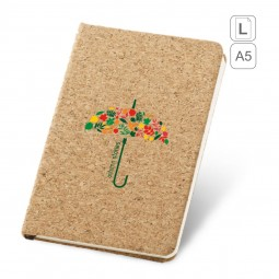 Caderno capa em Cortiça A5 personalizado Adams 93719