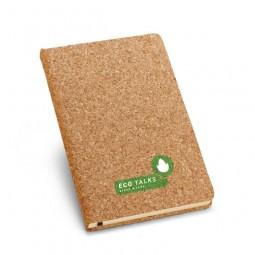 Caderno eco capa cortiça personalizado para brindes 93489