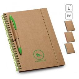 Caderno ecológico porta caneta Garden 93708