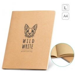 caderno grande A4 ecológico personalizado Alcott 93272