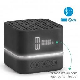 Caixa de Som Bluetooth LED Personalizada Edison