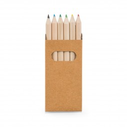 Caixa com Mini Lápis de Cor 91750
