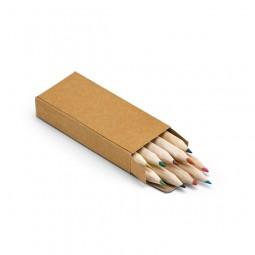 Caixa com Mini Lápis de Cor 91931