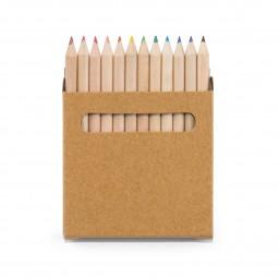 Caixa com Mini Lápis de Cor 91747