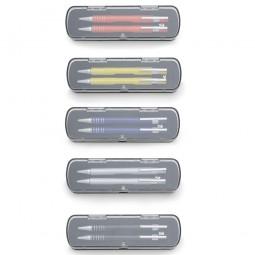 Conjunto Caneta e Lapiseira Semi-Metal 12609