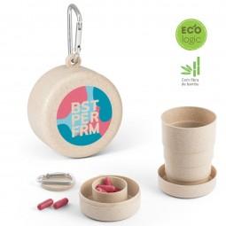 Copo ecológico fibra de bambu personalizado