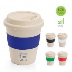 Copo personalizado Ecológico fibra de bambu Latte