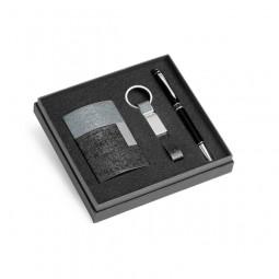 Kit Caneta, Chaveiro e Porta Cartão 93315