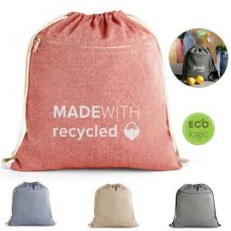 Sacola personalizada tipo mochila em algodão Chancery 92928