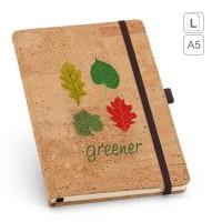 Caderno capa em Cortiça A5 Portel 93730