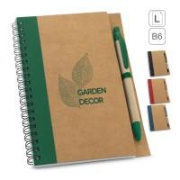 Caderno Ecologico personalizado para brindes 93715